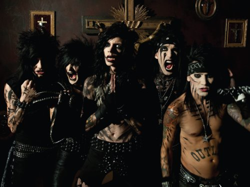 andy, andy biersack, ashley, black veil brides, jake