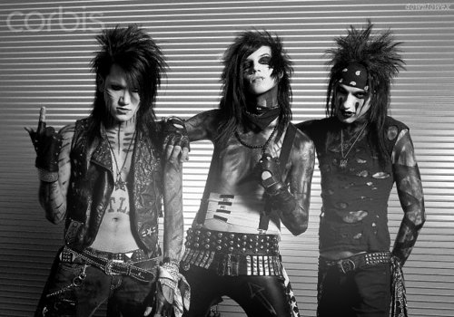 andy biersack, ashley purdy, black veil brides