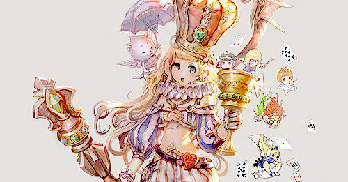 anime, cards, crown, cute, edit by naiyeli, girl, umbrella