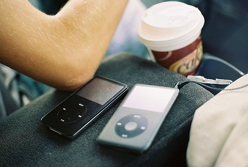 apple, ipod, music, photography, vintage