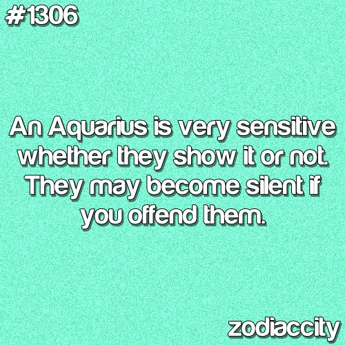 aquarius , blue, sensitive, typography