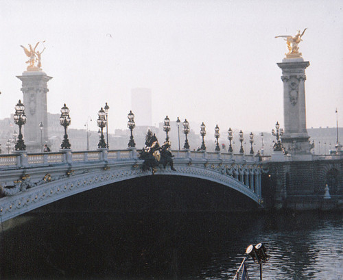 architecture, beautiful, bridge, paris, vintage