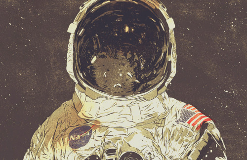 astronaut in space painting - photo #36