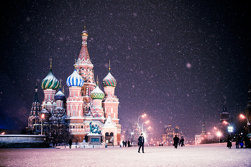 art, beautiful, beauty, city, color, colors, europe, kreml, light, lights, moscou, moscow, moskau, night, photography, red place, russia, snow, winter