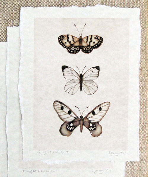 art, black, butterflies, drawing, paper, white