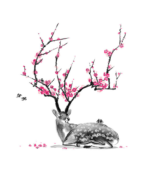 art, blossom, flowers, pretty, sakura - image #358919 on ...