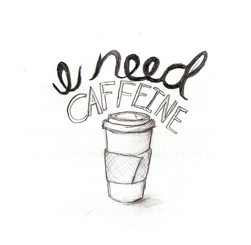 art, caffeine, coffee, draw, drawing