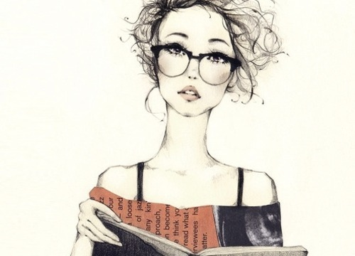 art, fashion, girl, glasses, skinny