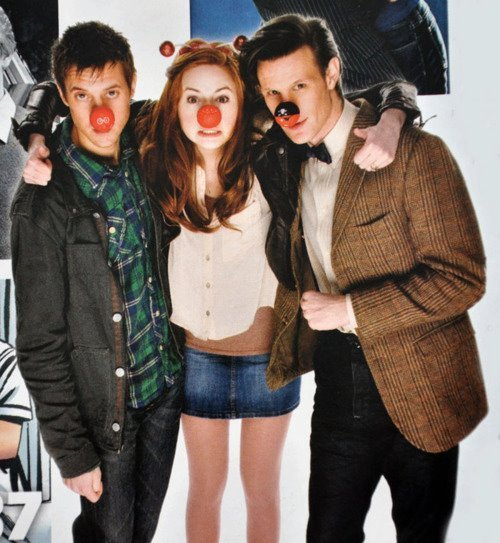 arthur darvill, doctor who, i love him, karen gillan, matt smith