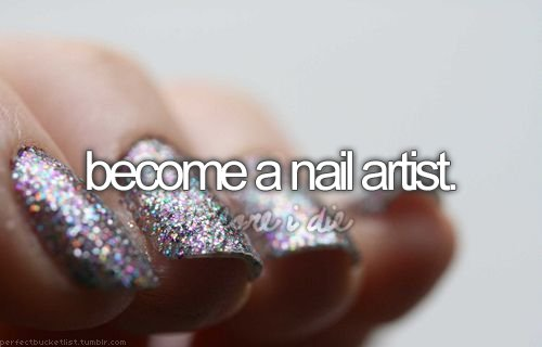 artist, become, before i die, nail, nailart