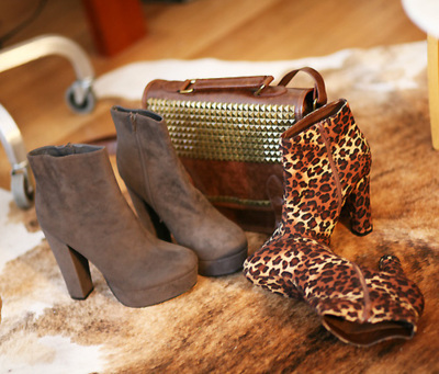 autumn, bag, boots, cute, fall, fashion, heels, high heels, leather, love, shoes