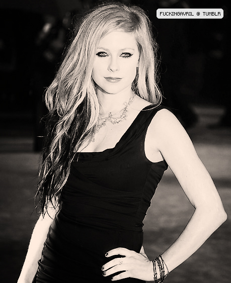 avril, avril lavigne, blonde, dress, eyes