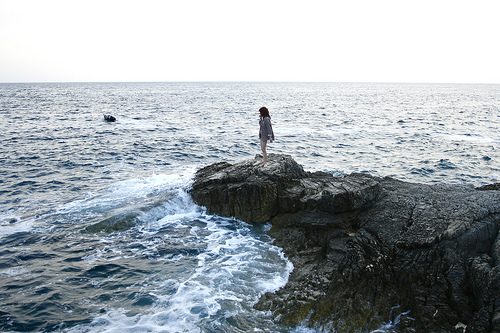 awesome, girl, nature and ocean