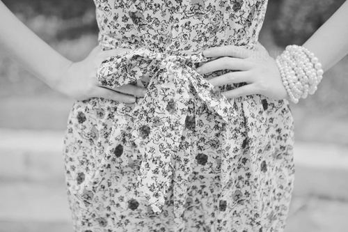 b & w, b&w, black and white, cute, dress