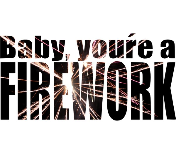 baby, firework, katy perry, new year, text