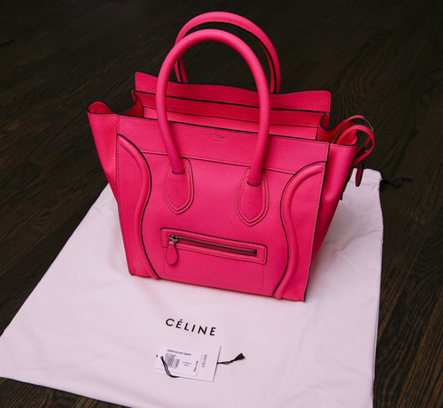 bag, boston, celine, fashion, luxury, pink, purse