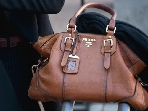 bag, brown, fashion, prada