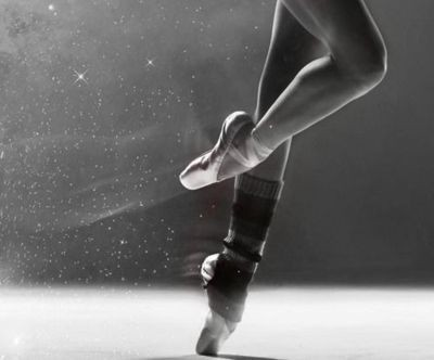 ballet, black, black and white, dance, dust, girl, legs, magical, shoes, socks, white, woman