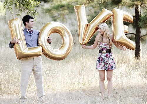 ballons, beautiful, blonde, couple, cute, dress, fashion, field, girl, laught, love, lovely, photography, smile, style