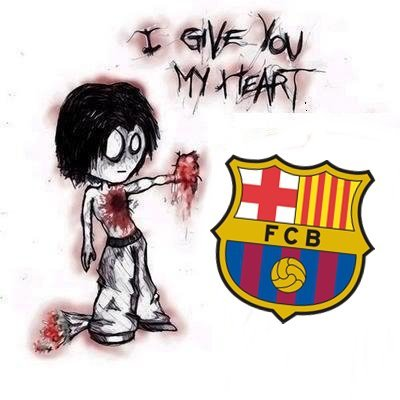 barca, barcelona, fc barca, fc barcelona, football, give, give you my heart, heart, love, soccer, you
