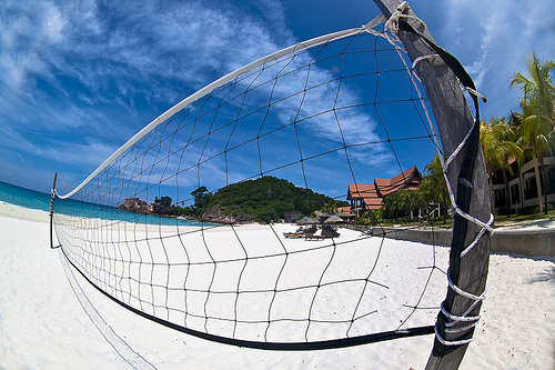 beach, tennis, voley