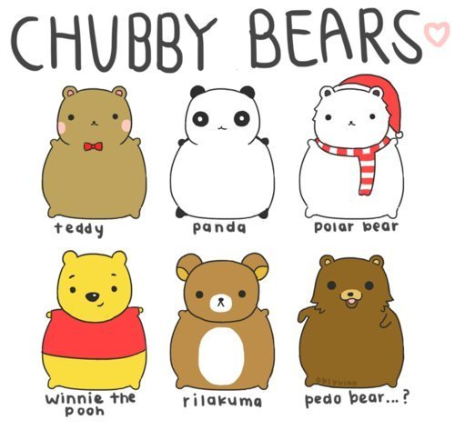 bear, bears, chubby, cute, kawaii, panda, polar bear, rilakuma, teddy, winnie the pooh