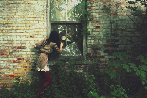 beautiful, beautiful house, girl, mystic, old