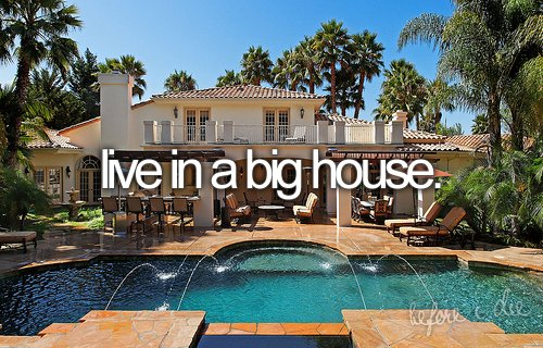 beautiful, big house, chairs, house, mansion, pool