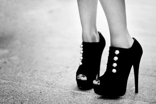 beautiful, black, cute, fashion, girl, nice, photo, photography, pretty, shoes, sweet, white