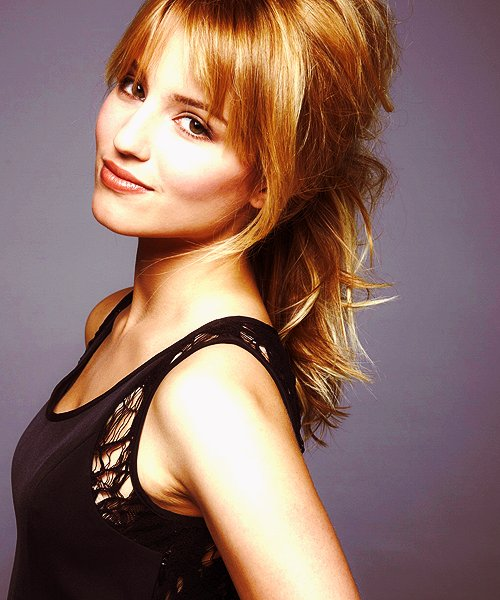 beautiful, blond, dianna agron, edition, glee