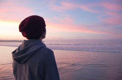 beautiful, blue, boy, cute, fashion, landscape, love, nature, ocean, photo, photography, pink, pretty