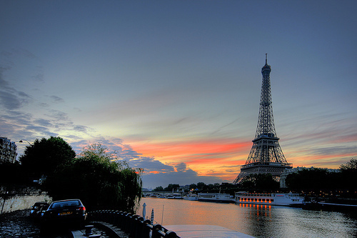 beautiful, boat, cloud, cute, eiffel