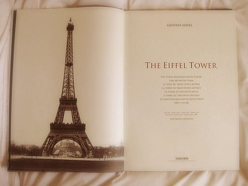 beautiful, book, eiffel tower, paris, the eiffel tower