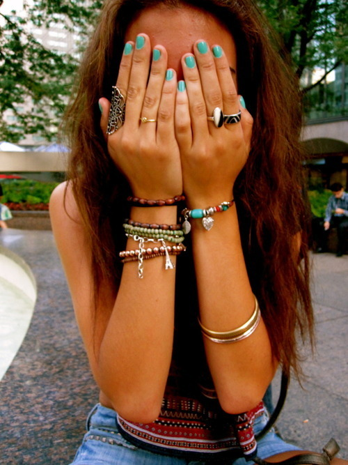beautiful, bracelet, bracelets, cute, fashion, girl, hair, hari, jewelry, nail, nails, photography, pretty, ring, rings, things