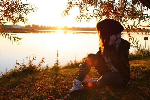 beautiful, converse, girl, lake