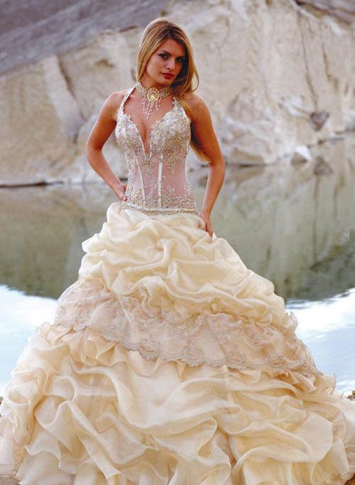 beautiful, corset, dress, lace, love, marriage, wedding
