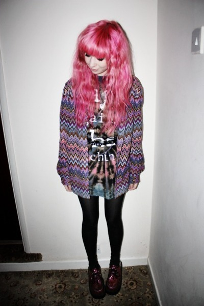 beautiful, fashion, girl, nice, pink, pink hair, pretty, scene, scene hair, style