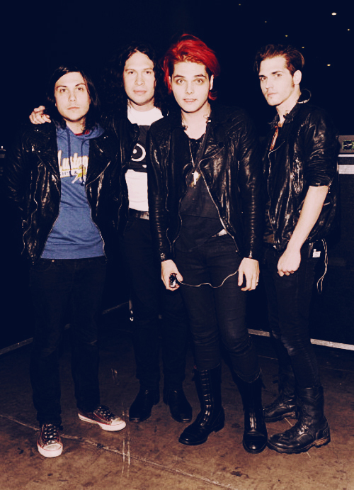 beautiful, frank iero, gee, gerard way, gerd