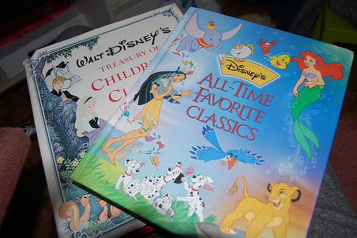 beauty and the beast, book, classics, dalmatians, disney