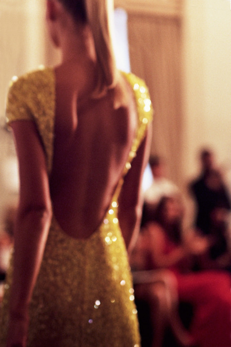 beauty, blond, dress, fashion, sequins