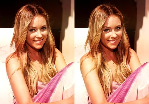 beauty, blonde, celeb, fame, famous, hair, lauren conrad, long hair, pink