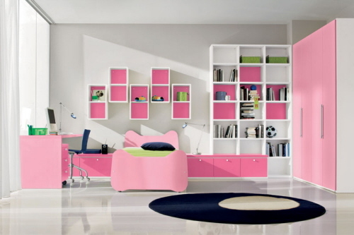 bedroom, girls bedroom, ikea, pink, white