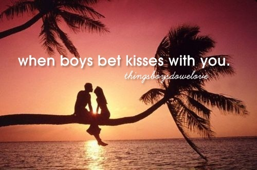 bet kisses, boys, couple, cute, girls