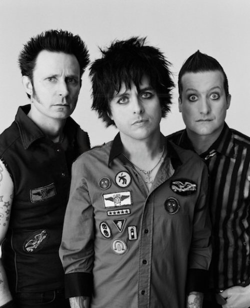 billie joe armstrong, green day, mike dirnt, music, punk