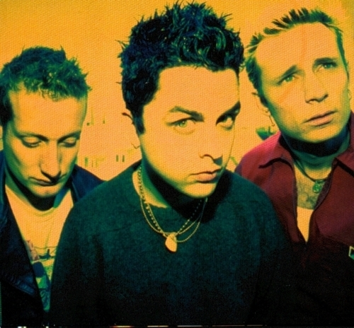 billie joe armstrong, green day, mike dirnt, music, punk, tre cool