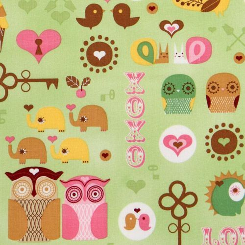 birds, cute, elephants, hearts, keys, owls