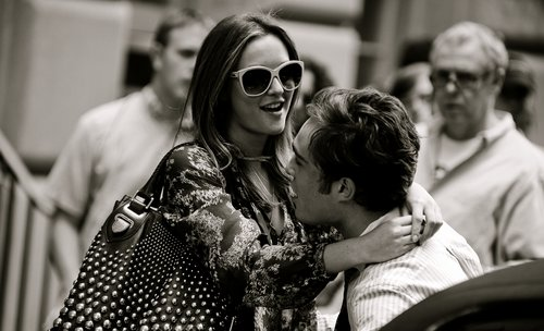 black and white, blair, blair waldorf, chair, chuck