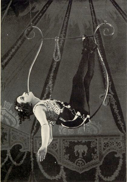 black and white, carnival, circus, retro, tent, trapeze, vintage, woman