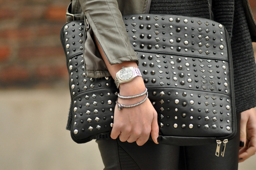 black, clutch, fashion, outfit