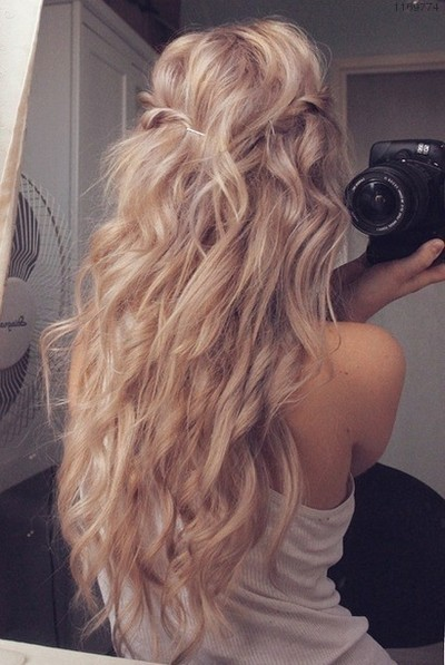 blond, blonde, camera, curls, girl